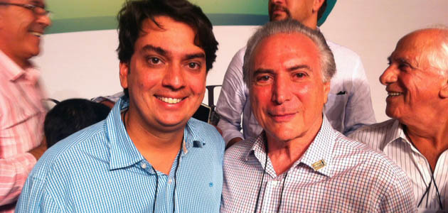 Pedro Tavares e Michel Temer